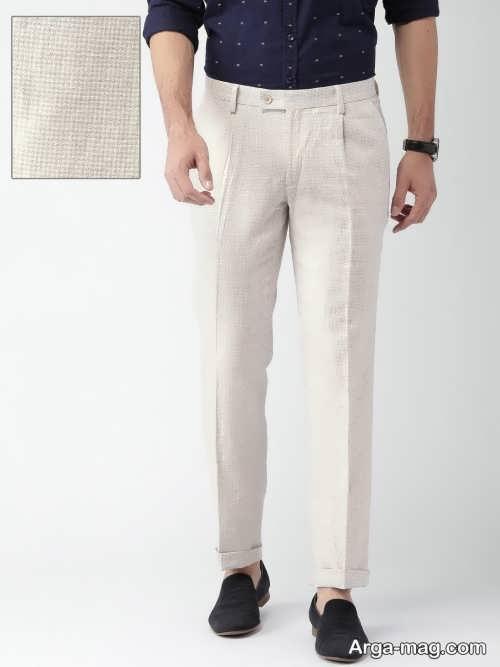 مدل شلوار سفید پسرانه