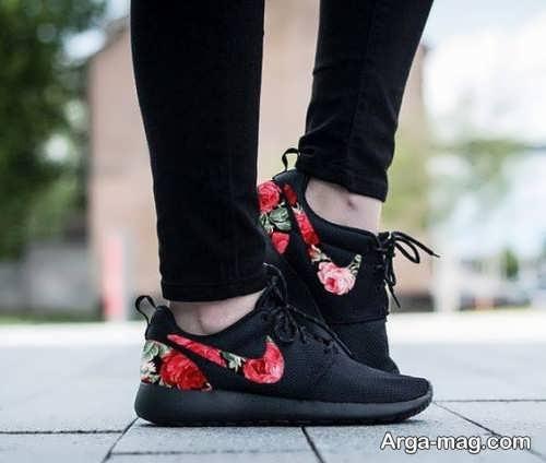 مدل کفش زنانه طرح دار