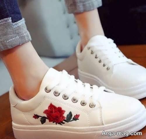 مدل کفش سفید زنانه
