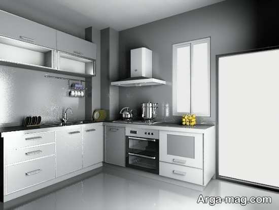دیزاین متفاوت آشپزخانه مدرن