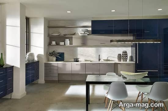 طراحی متفاوت آشپزخانه مدرن