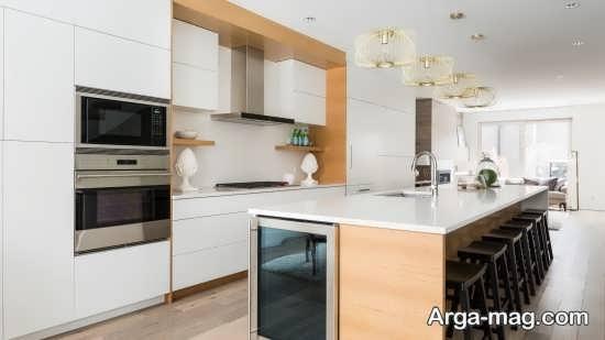 طراحی جذاب آشپزخانه مدرن