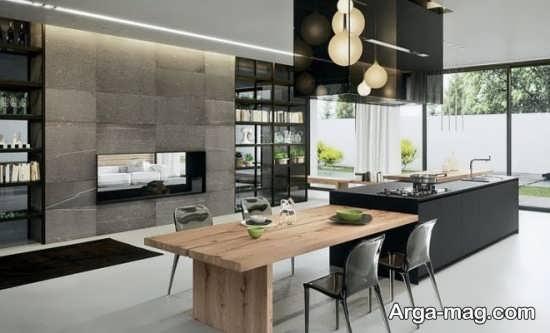 طراحی دیدنی آشپزخانه مدرن