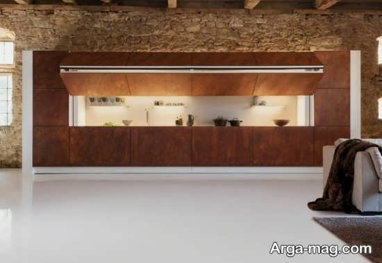 دکوراسیون دیدنی آشپزخانه مدرن