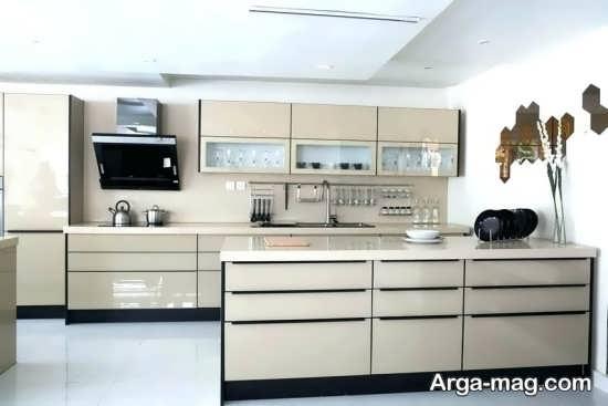 دکوراسیون جذاب آشپزخانه مدرن