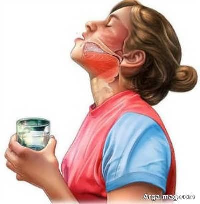 درمان گلودرد با طب سنتی