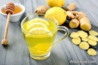 مصرف زنجبیل و لیمو برای درمان گلودرد