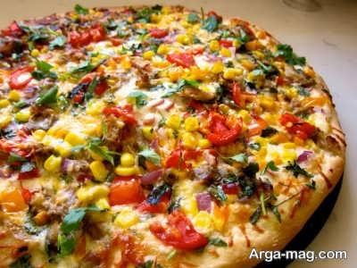 آموزش تهیه پیتزا مکزیکی