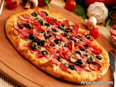 دستور تهیه پیتزا مکزیکی