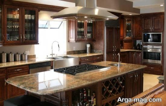 دکوراسیون جدید آشپزخانه ام دی اف