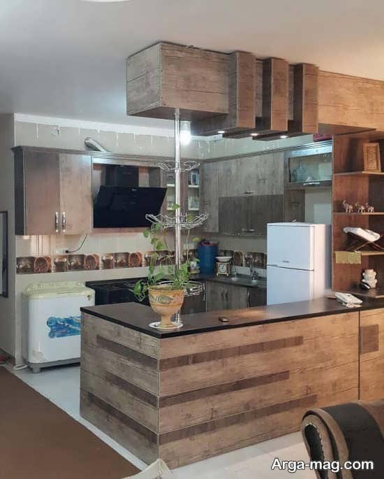 اپن آشپزخانه ام دی اف