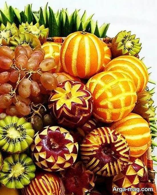 نقاشی سبد سیب تزیین پرتقال شب یلدا با ایده های زیبا و جالب | دانلود آهنگ ...