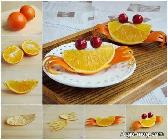 ایده های خاص برای تزیین پرتقال