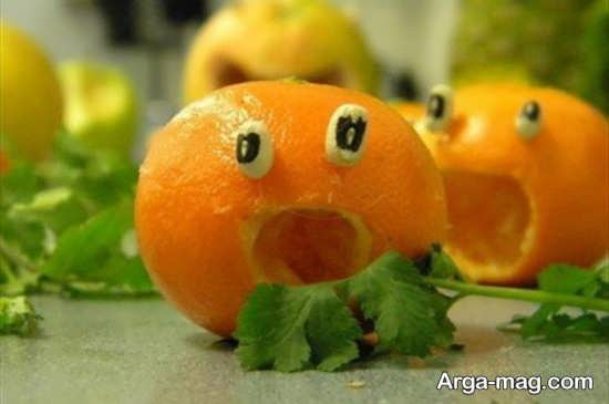 مدل های جدید تزیین پرتقال برای شب یلدا