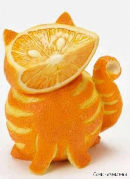 تزیینات شیک پرتقال شب یلدا