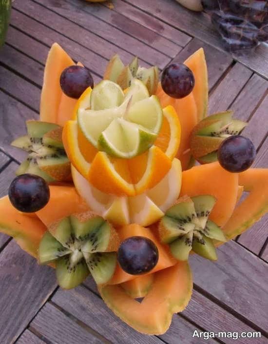 روش های تزیین پرتقال برای شب یلدا