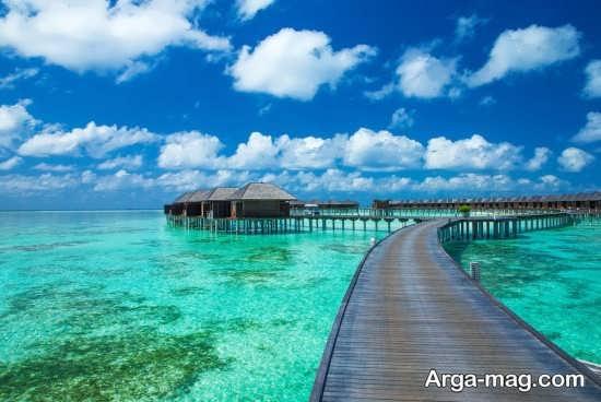 تصاویر مکان های دیدنی مالدیو