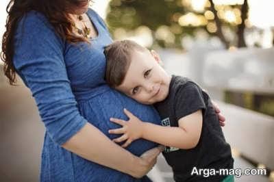 بیان خبر حاملگی به فرزند اول