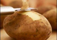 خواص پوست سیب زمینی