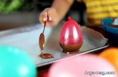 آموزش تهیه کاسه شکلاتی