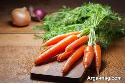 درمان چروک صورت با هویج