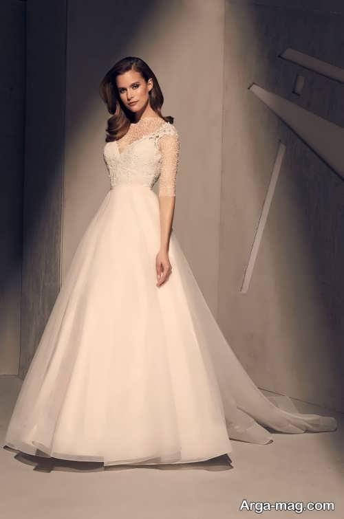 ژست عکس عروس ساده