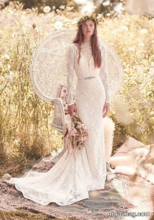 ژست زیبا برای عکس عروس