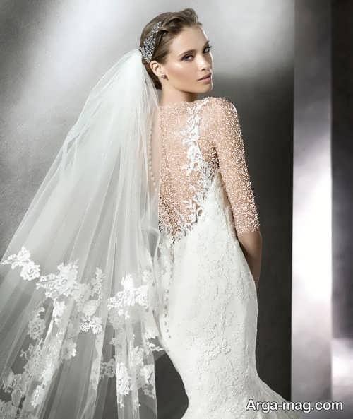 ژست زیبا و جالب عکس عروس