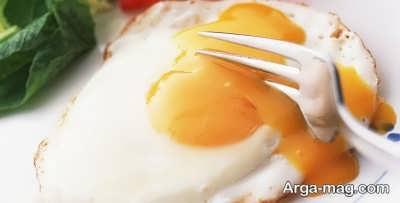 مقدار کالری تخم مرغ