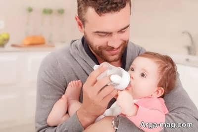 درمان نفخ کودک