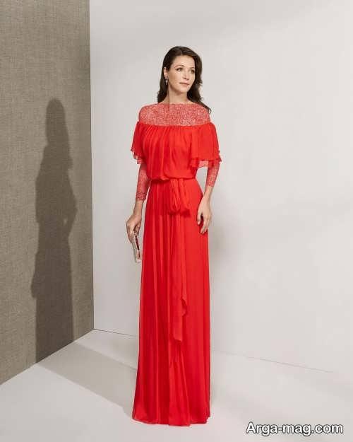 لباس شب ترکیه ای قرمز