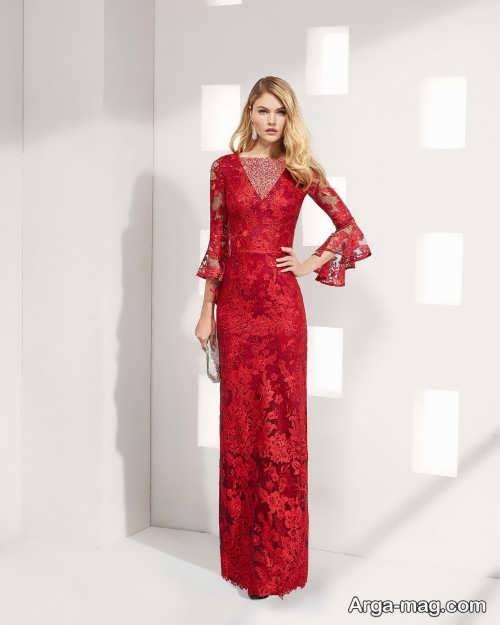 مدل لباس شب گیپور