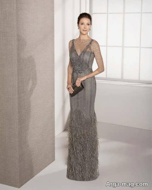مدل لباس شب شیک و زیبا