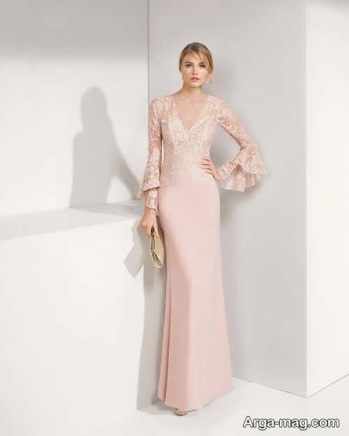 لباس شب رنگ روشن