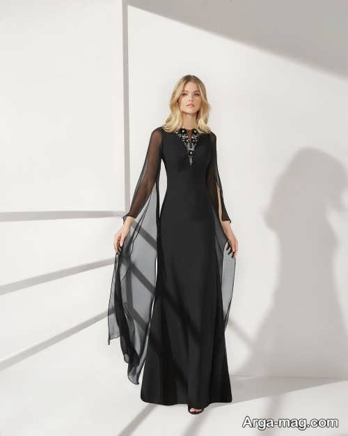 مدل لباس شب ترکیه ای مشکی