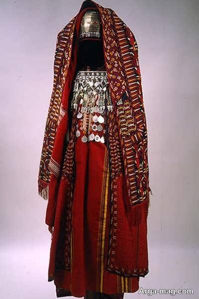 مدل لباس ترکمنی