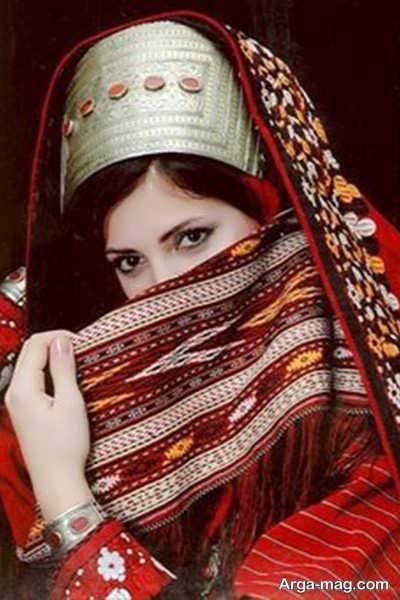 مدل لباس زیبا و شیک ترکمنی