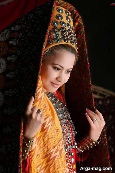 مدل چادر ترکمنی