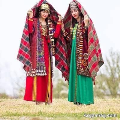 مدل لباس زنانه ترکمنی