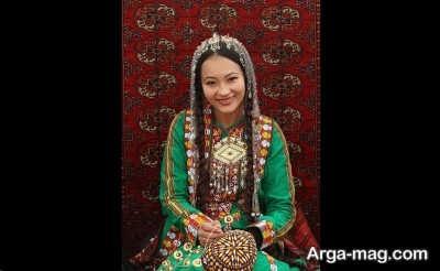 لباس ترکمنی