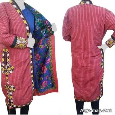 لباس ترکمنی دخترانه