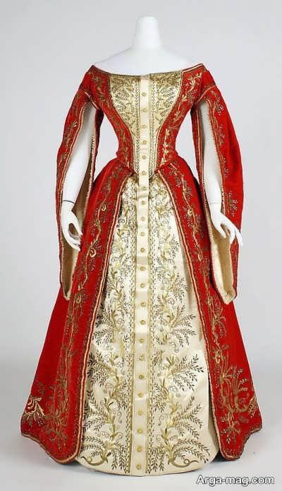 مدل لباس مجلسی ترکمنی