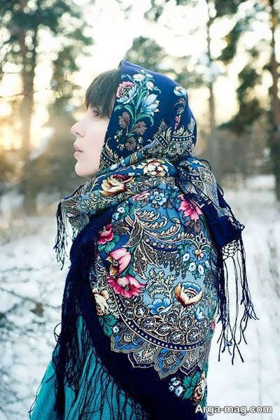 مدل روسری ترکمنی