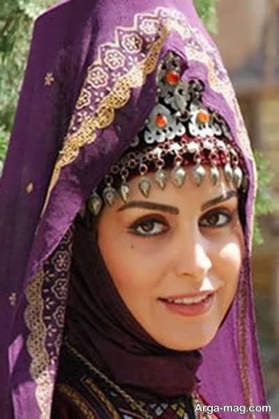 مدل پوشاک ترکمنی