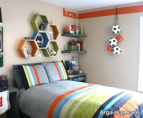 تزیین کردن دیوار اتاق نوجوان