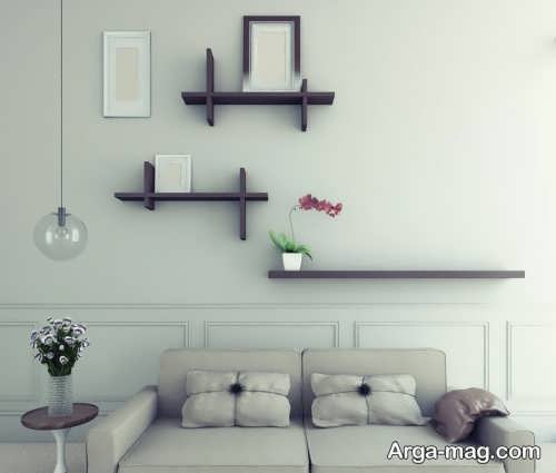 تزیین زیبا و ساده دیوار