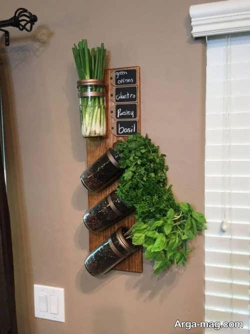 تزیین کردن دیوار آشپزخانه
