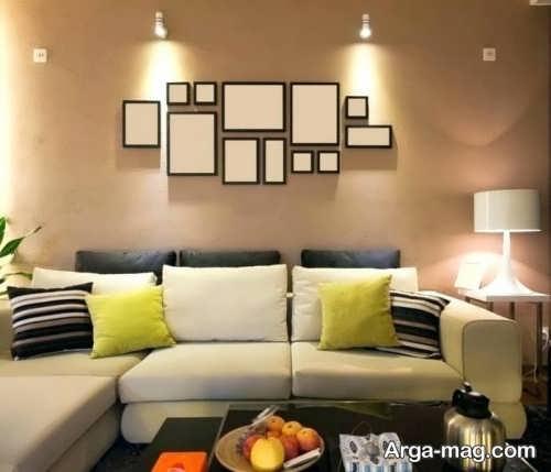 تزیین ساده و جذاب دیوار
