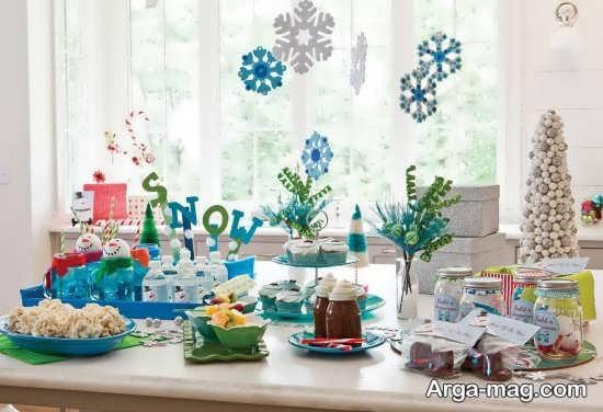 دیزاین جذاب تولد زمستانی