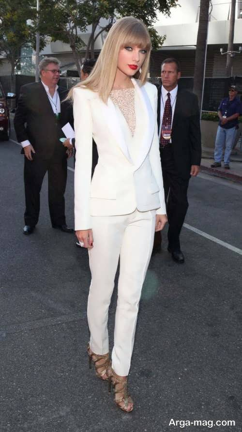 کت و شلوار سفید 2019